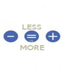 LESS  IS MORE  - Personalised Poster A4 size