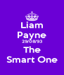 Liam Payne 29/08/93 The Smart One - Personalised Poster A4 size