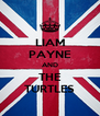 LIAM PAYNE AND THE TURTLES - Personalised Poster A4 size