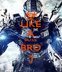 LIKE A BOSS BRO :) - Personalised Poster A4 size