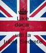 Like daca  te  uiti la Iubiri Secrete - Personalised Poster A4 size