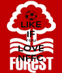 LIKE IF YOU LOVE NFFC - Personalised Poster A4 size