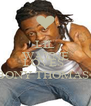 LIL WAYNE SAYS HE LOVES  EBONY THOMAS<3 - Personalised Poster A4 size
