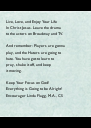 Live, Love, and Enjoy Your Life 