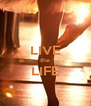 LIVE the LIFE  - Personalised Poster A4 size