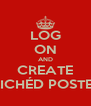 LOG ON AND CREATE CLICHÉD POSTERS - Personalised Poster A4 size