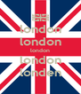 london london london london londen - Personalised Poster A4 size