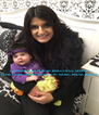 LOOKING FAB FOR 30, BEAUTIFUL SEEMA LOVE - DAD, MUM, SUSH, DIP, SAND, MAYA & INDIE - Personalised Poster A4 size