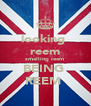 looking  reem smelling reem  BEING  REEM  - Personalised Poster A4 size
