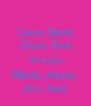 Lore, Berti Guis, Eve Mire,Laia Marti, Anna  Ari, Ivet - Personalised Poster A4 size