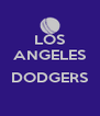 LOS ANGELES  DODGERS  - Personalised Poster A4 size
