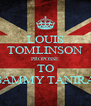 LOUIS TOMLINSON PROPOSSE TO SAMMY TANIRA - Personalised Poster A4 size