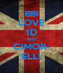 LOVE 1D AND CIMOR- ELLI - Personalised Poster A4 size