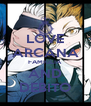 LOVE ARCANA FAMIGLIA AND DEBITO - Personalised Poster A4 size