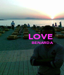 LOVE                BENARDA   - Personalised Poster A4 size