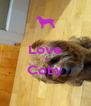 Love   = Coby  - Personalised Poster A4 size