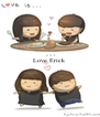 Love Erick    - Personalised Poster A4 size