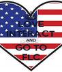 LOVE INTERACT AND GO TO FLC - Personalised Poster A4 size