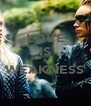 LOVE IS A WEAKNESS  - Personalised Poster A4 size