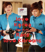 love Korea because Rana love Koreans - Personalised Poster A4 size