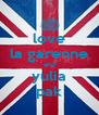 love la garenne and yulia pak - Personalised Poster A4 size