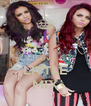 LOVE LITTLE MIX - Personalised Poster A4 size