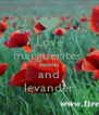 Love marguerites  poppies and levander - Personalised Poster A4 size
