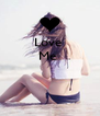 Love  Me     - Personalised Poster A4 size