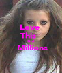 Love  This   Girl  Millions  - Personalised Poster A4 size