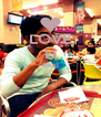 LOVE U RAKI   - Personalised Poster A4 size