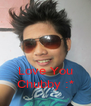 Love You Chubby :* - Personalised Poster A4 size