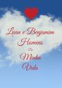 Luan e Benjamim  Homens Da  Minha Vida - Personalised Poster A4 size