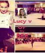 Lucy v Ur  My BFF Luv u!! - Personalised Poster A4 size