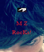 M Z  RocKs!  - Personalised Poster A4 size