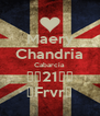 Maery Chandria Cabarcia ♥♥21♥♥ ♥Frvr♥ - Personalised Poster A4 size