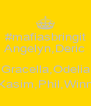 #mafiasbringit Angelyn,Deric  Gracella,Odelia Kasim,Phil,Winn - Personalised Poster A4 size