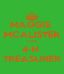 MAGGIE  MCALISTER FOR 4-H  TREASURER - Personalised Poster A4 size