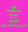 Maleta And  Deanna Bmfl IloveYuu <3 - Personalised Poster A4 size