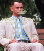 MAMA ALWAYS TOLD ME LIFE WAS LIKE A BOX OF CHOCOLATES - Personalised Poster A4 size