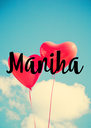Maniha - Personalised Poster A4 size