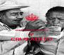 MANTEN LA CALMA Y CRUZADITO - Personalised Poster A4 size