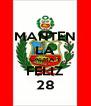 MANTEN LA CALMA Y FELIZ 28 - Personalised Poster A4 size