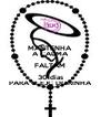 MANTENHA A CALMA FALTAM 30 dias PARA O EJC DORINHA - Personalised Poster A4 size