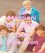 Mantieni La Calma E Ama i One Direction - Personalised Poster A4 size