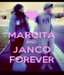 MARCITA AND  JANCO FOREVER - Personalised Poster A4 size