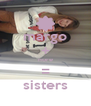 margo + nore = sisters - Personalised Poster A4 size
