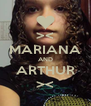 >< MARIANA AND ARTHUR >< - Personalised Poster A4 size
