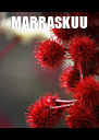 MARRASKUU  - Personalised Poster A4 size