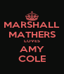 MARSHALL MATHERS LOVES AMY COLE - Personalised Poster A4 size