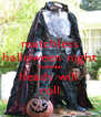 matchless halloween night montreal heads will  roll - Personalised Poster A4 size